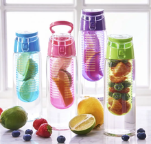 Personalised and Customisable Water Bottle with Removal Fruit Infuser