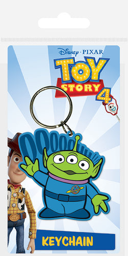 Disney Pixar Toy Story 4 - Alien Keyring - Free UK Shipping