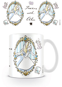 Disney Alice in Wonderland Looking Glass - 'Teatime' Mug