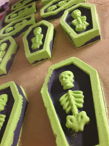 Halloween Coffin Bath Bomb - Vegan Friendly