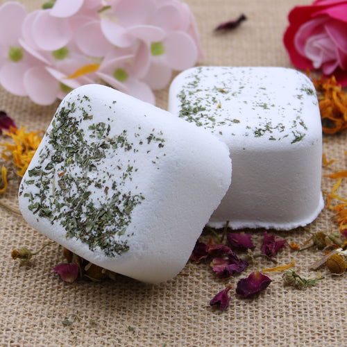5x Aromatherapy Shower Steamers - Kick Start (Peppermint & Eucalyptus)