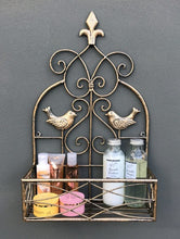 Gold Scroll and Bird Wall Planter/Shelf - A great addition to any room. (Available in Small or Large)