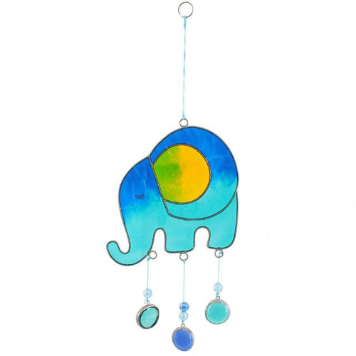 Elephant Suncatcher - various colours available