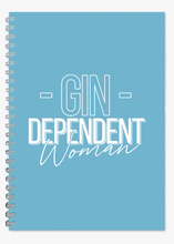 Gindependent Woman A5 Lined Notepad - Various Colours