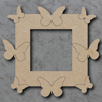 Personalised and Customisable Wooden Butterflies Light Switch Surround