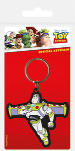 Disney Pixar Toy Story - Buzz Lightyear Keyring - Free UK Shipping