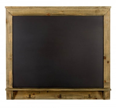 Blackboard / Chalkboard with 3 Hooks for Hanging