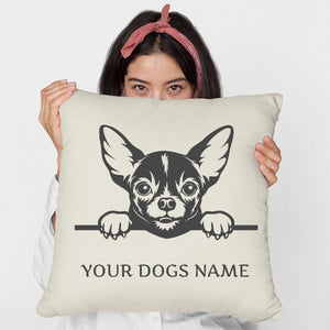 Personalised or Non-Personalised Chihuahua Cushion - Various Designs