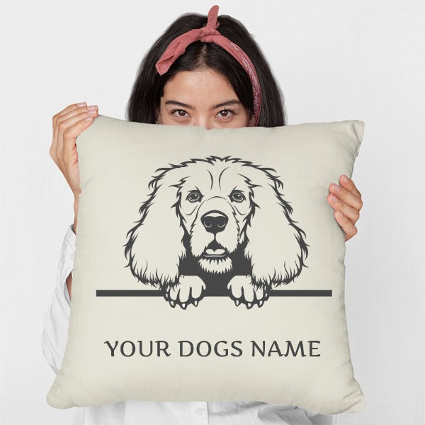 Personalised or Non-Personalised Cocker Spaniel Cushion