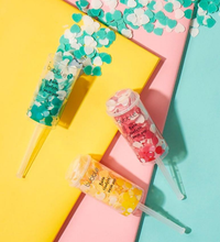 Bubble T Bath Confetti Push Pops Set