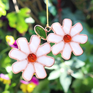 Double Daisy Suncatcher