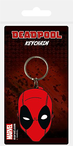 Deadpool Face Keyring - Free Shipping