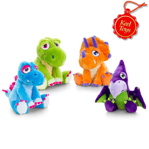 Keel Toys 'Hugasaurus' Dinosaur Soft Toy - Choice of 4 - 25 cm