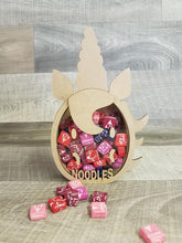 Customisable Wooden Unicorn (Face) Egg (Chocolate) Holder - can be Personalised