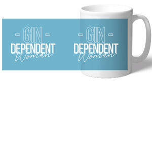 Gindependent Woman Mug - Various Colours Available