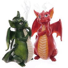 Cartoon Design Dragon Incense Burner - Available in Red or Green