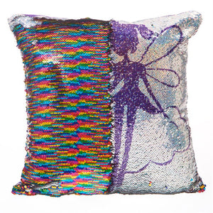 Fairy Sequined Cushion
