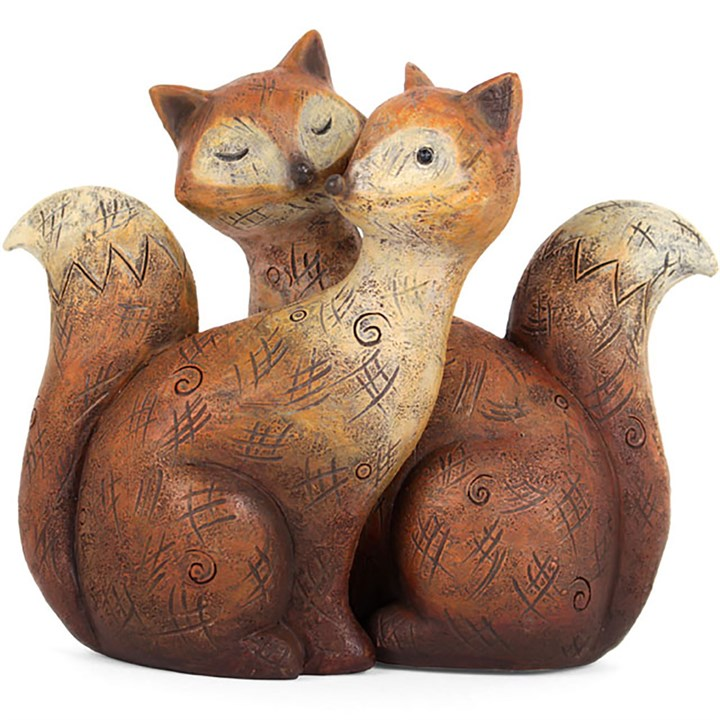 Pair of Fox Ornaments