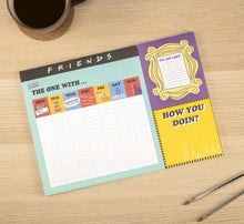 Friends Weekly A4 Planner