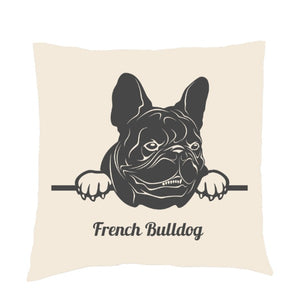 Personalised or Non-Personalised French Bulldog Cushion
