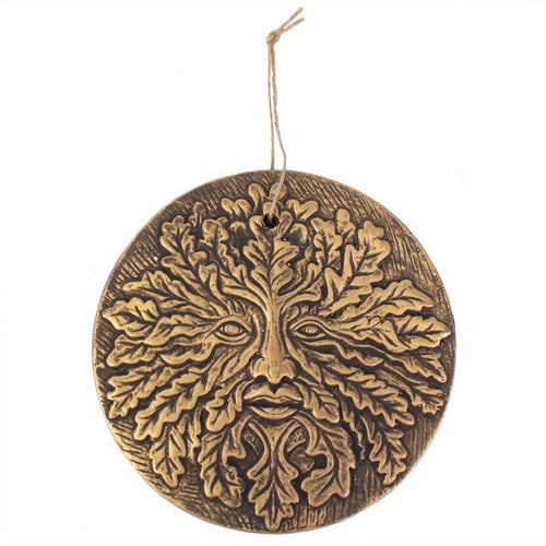 Green Man Garden Hanging Plaque
