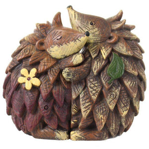 Pair of Hedgehogs Ornament