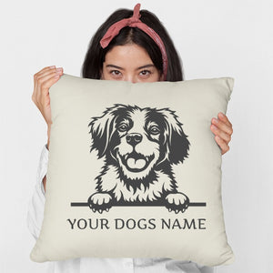 Personalised or Non-Personalised Brittany Cushion