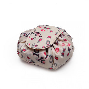 Ultimate Lipstick Drawstring Travel Make-up/Cosmetic Bag