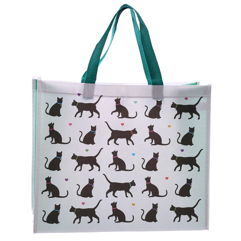 I Love My Cat Cat Durable Reusable Shopping Bag