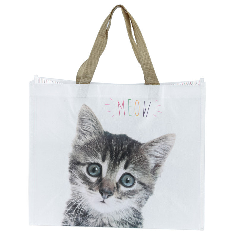 'Meow' Cat Durable Reuseable Shopping Bag