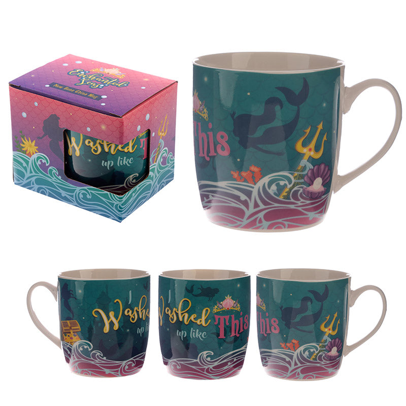 Enchanted Seas Mermaid Mug