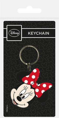 Disney Minnie Mouse Keyring - Free UK Shipping