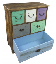 Wooden Storage Cabinet With 6 Drawers