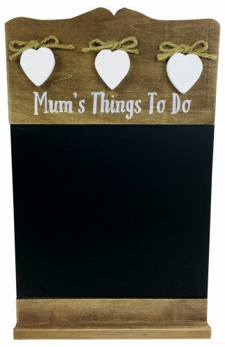 'Mum's Things To Do' Wall Hanging Blackboard (Chalkboard)