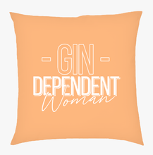 Gindependent Woman Cushion - Various Colours Available