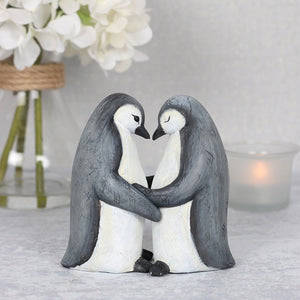 Penguin Duo Ornament(s) - perfect for Valentine's Day, Anniversaries and Weddings
