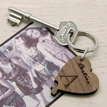 Besties Lucky Clover Wooden Keyring - 4 Individual keyrings