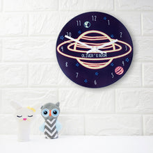 Out Of This World Personalised Space Wall Clock