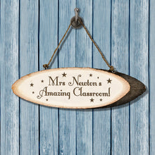 Personalised Super Star Teacher's Hanging Classroom Sign