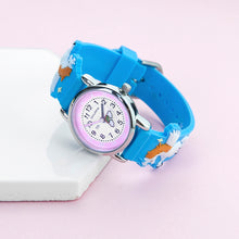 Childrens Personalised Rainbow Unicorn Watch