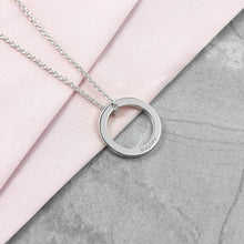 Personalised Ring Design Necklace - Available in Sterling Silver (plated), Gold or Rose Gold (18ct plated)
