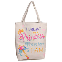 Enchanted Kingdom Princess Cotton Bag