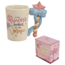 Fairy Princess Magic Wand Handle Mug