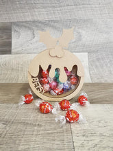 Customisable Wooden Christmas Pudding (Chocolate) Holder - can be Personalised