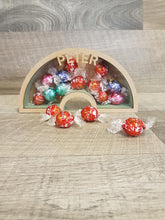 Customisable Wooden Rainbow (Chocolate) Holder - can be Personalised
