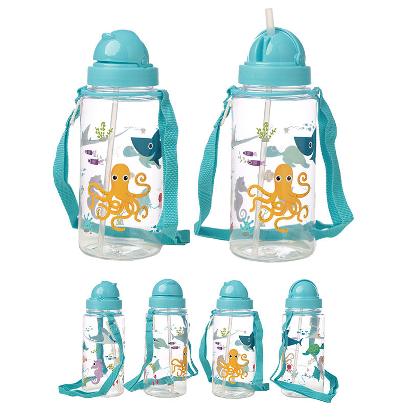 Children's Sea Life Water / Drinks Bottle 450ml