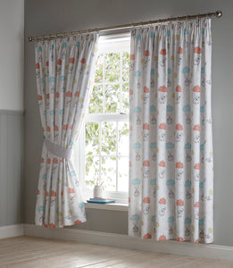 Sheep Dreams Pencil Pleat Curtains