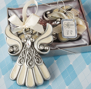 Shimmering Hanging Angel Ornament - Ideal for Christmas