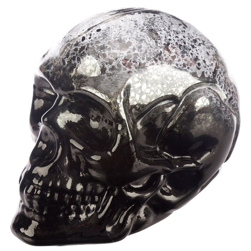 Small Two Toned LED Skull - Perfect for Halloween (various colours available)