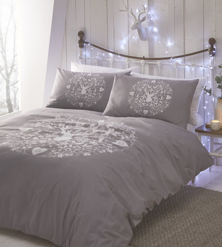 Bauble Icons Christmas Duvet Cover Set